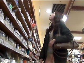 Asian spied on in public